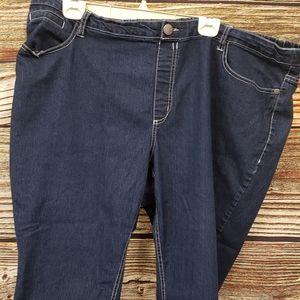 Avenue denim Capris stretchy jeans Size 26/28